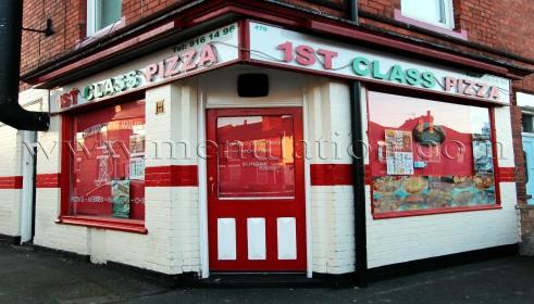 1st Class Pizza In Basford Nottingham Menu Phone Number