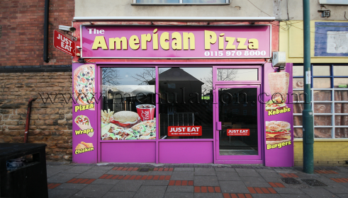 Photo of American Pizza; pizza and fast food takeaway and delivery in Radford, Nottingham