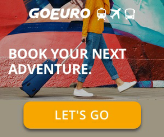 Book your next adventure with Go Euro..