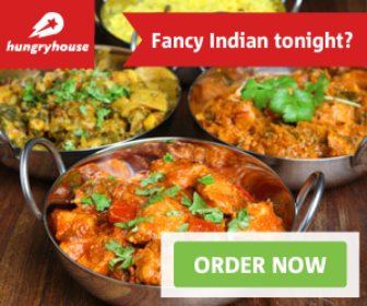 Order your meal online from a local takeaway.