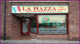 Photo of La Piazza pizza and pasta takeaway in Carlton, Nottingham