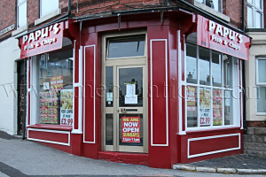 Photo of Papu's Fish & Chips takeaway in Bobbersmill, Nottingham.