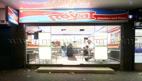 Royal Chicken In Hyson Green Menu Opening Hours Phone Number