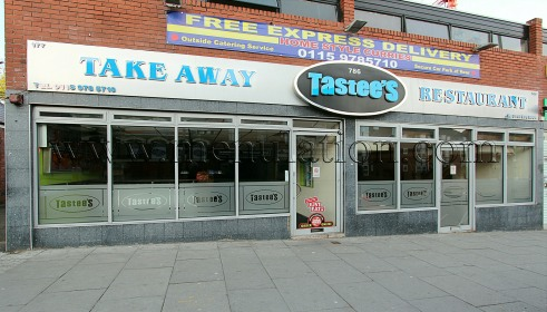 Photo of Tastees curries and fast food restaurant and takeaway in Radford, Nottingham