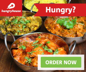 Order your meal online for delivery from a local takeaway.